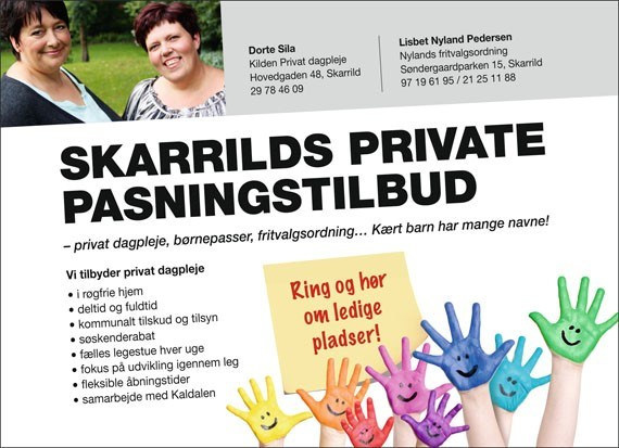 Skarrilds Private Pasningstilbud